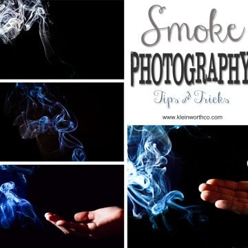 Smoke Photography Tutorial www.kleinworthco.com