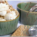 Banana Cream Pie Frozen Yogurt Recipe