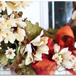 Early Fall Wreath, Sunflower Wreath