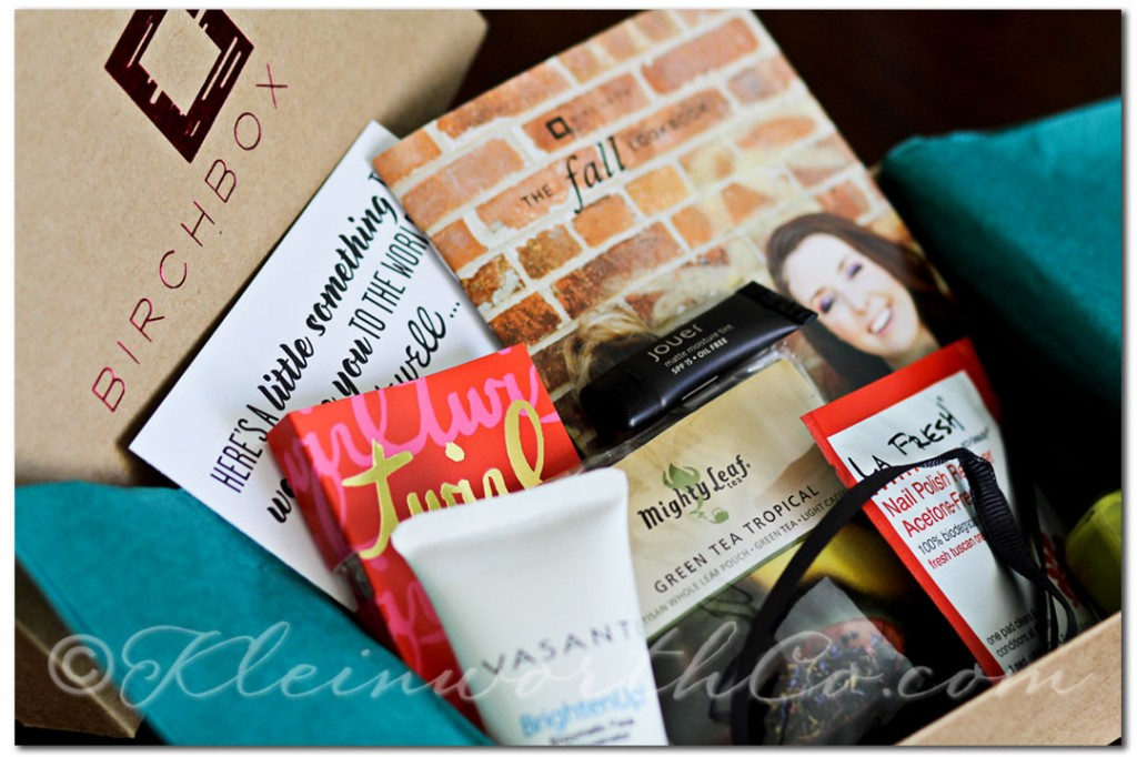 Birchbox September 2012