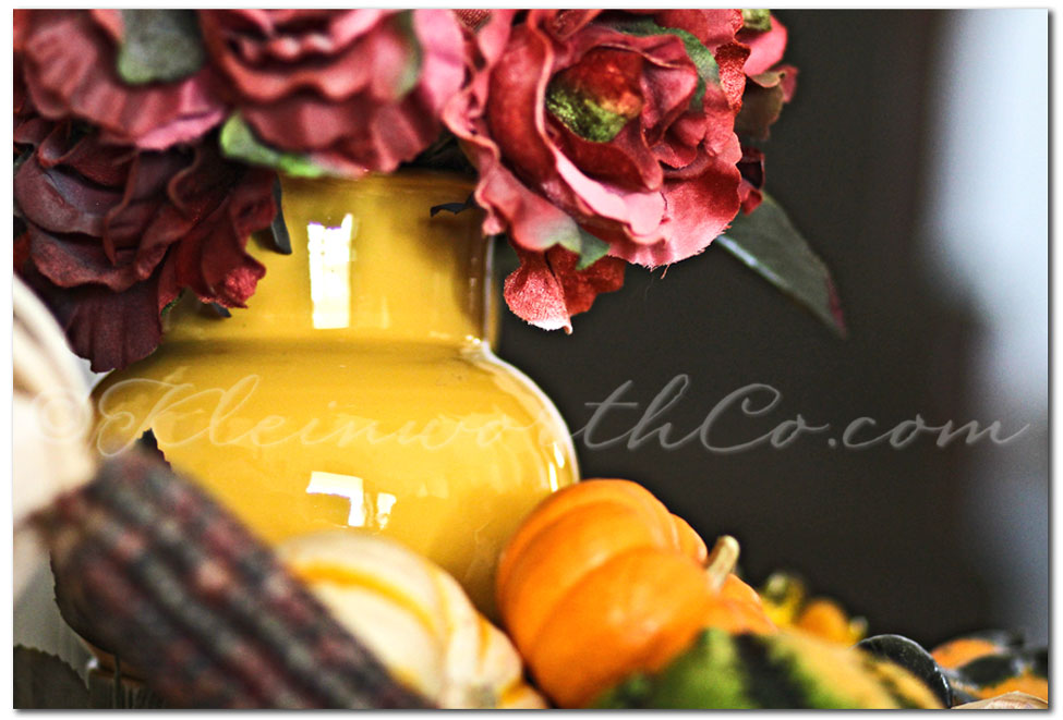 Fall Table Centerpiece, fall decorating, fall home decor