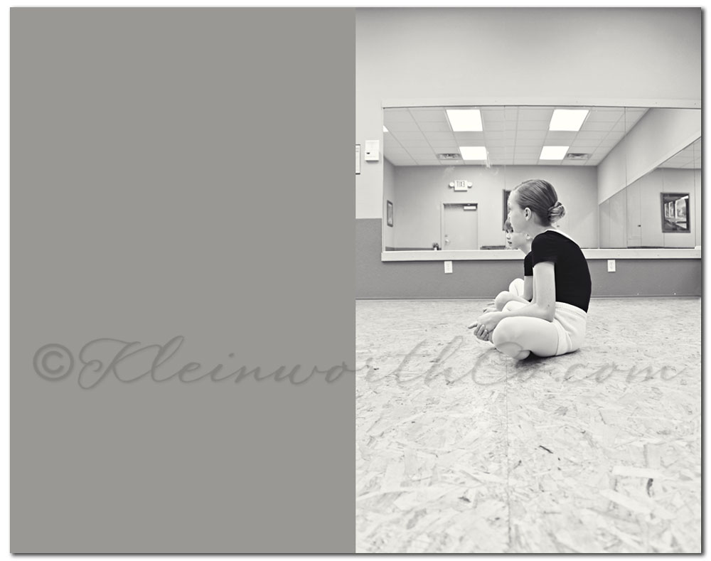 Ballet class, ballerina