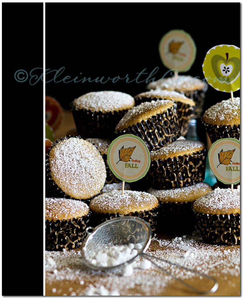 Fall Cupcakes & Life n' Reflection Fall Transfers