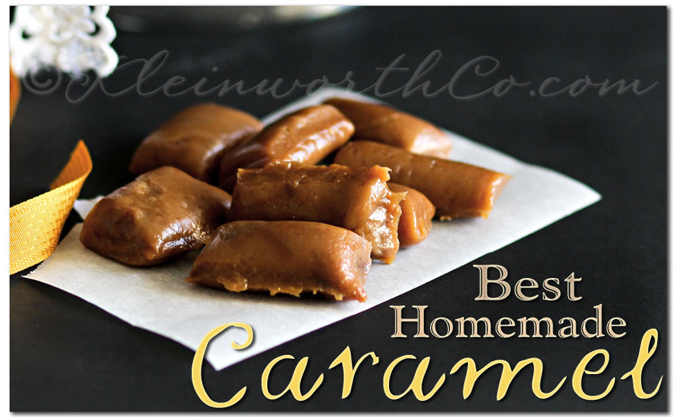 Best Homemade Caramel {RECIPE}