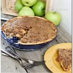 French Apple Pie {Recipe}, apple pie, cinnamon, fall recipes