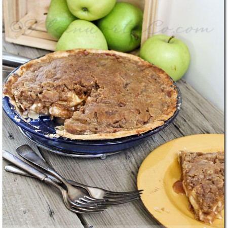 French Apple Pie {Recipe}