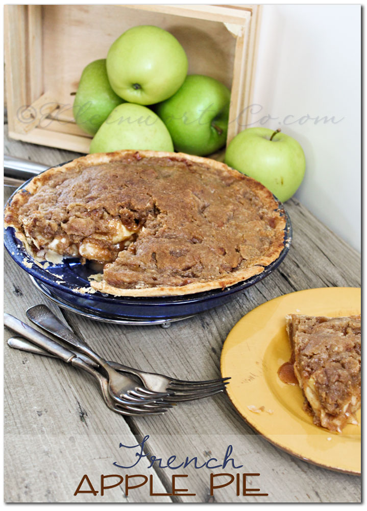French Apple Pie {Recipe}, apple pie, cinnamon, fall recipes