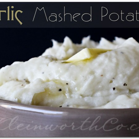 Garlic Mashed Potatoes & Country Crock {Recipe}