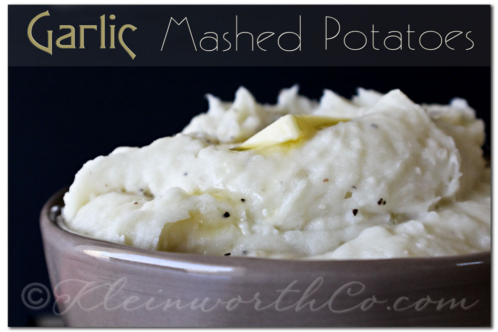 Garlic Mashed Potatoes, recipe, Country Crock, Thanksgiving