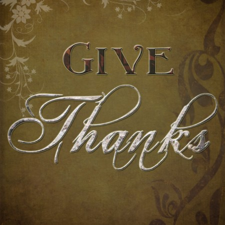 Give Thanks ~ Free Thanksgiving Printable