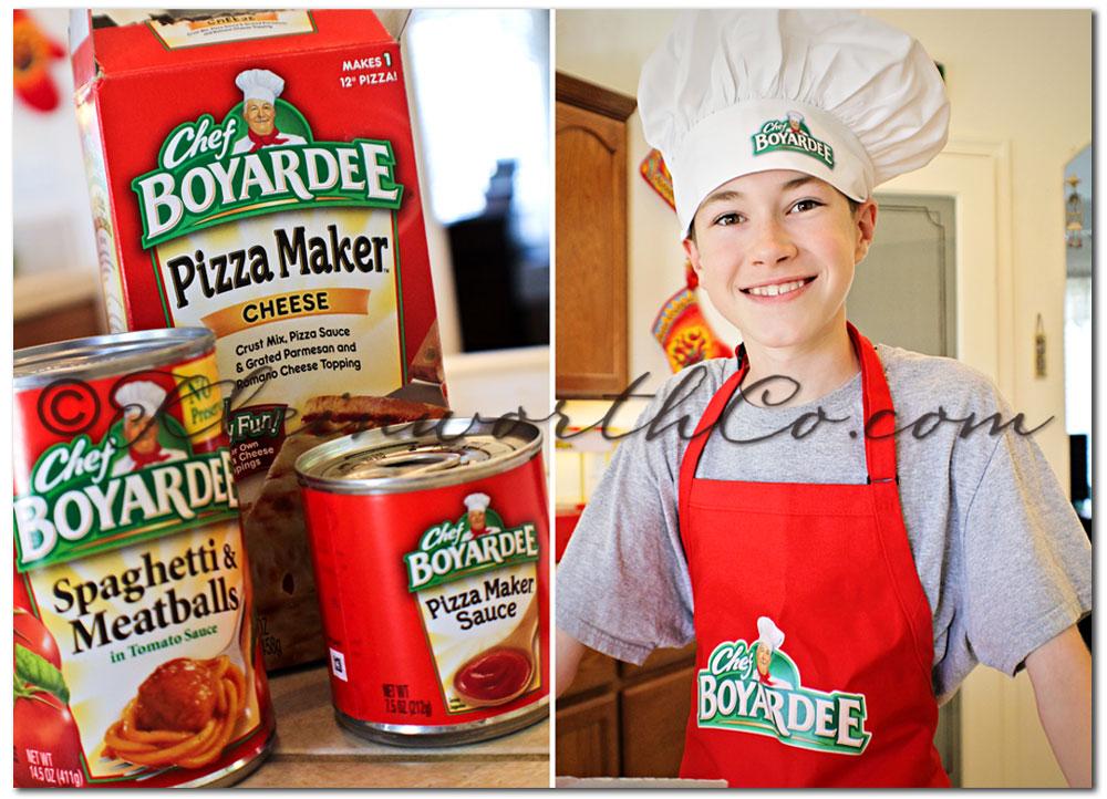 Baked Spaghetti Pie, Chef Boyardee