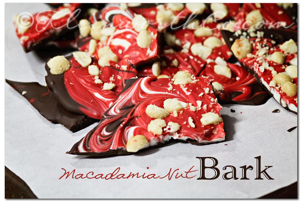 Macadamia Nut Bark, recipe