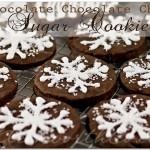 Chocolate Chocolate Chip Sugar Cookies, chocolate sugar cookie recipe