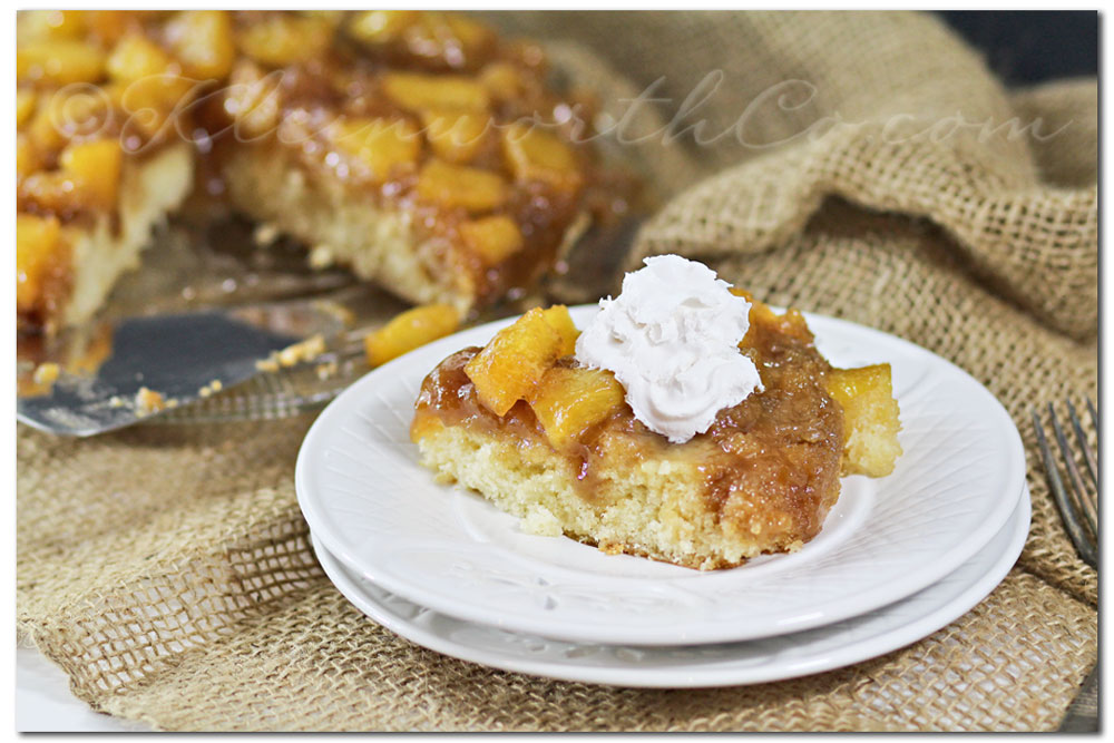 Pineapple Upside-Down Cake {Recipe}