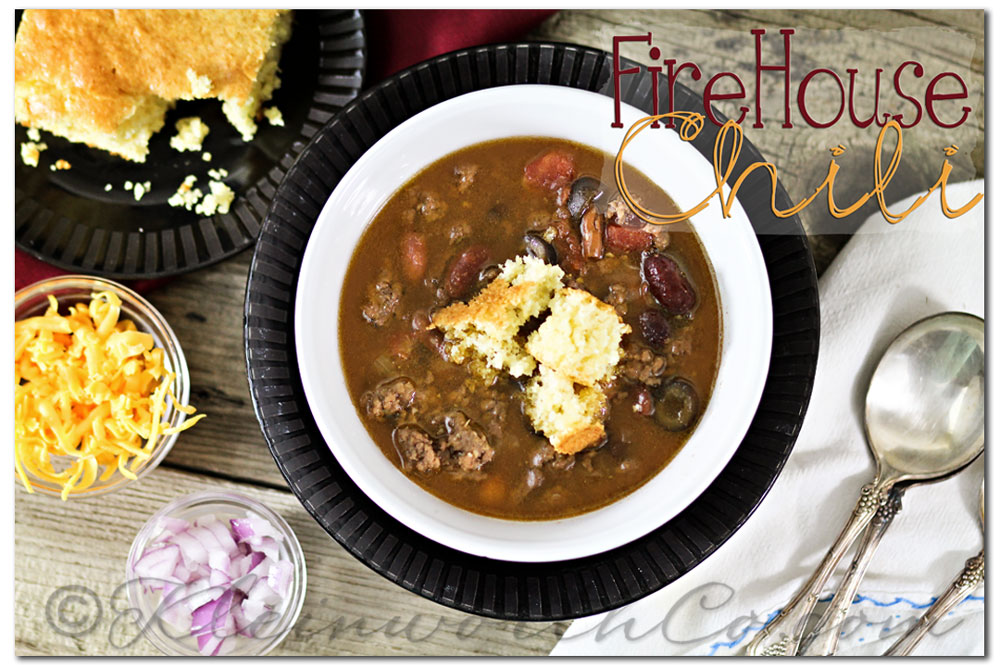 Best Firehouse Chili {Recipe}