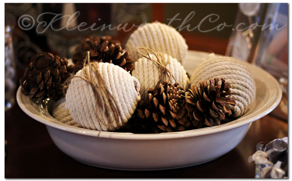 Re-Purpose Ornaments {DIY}