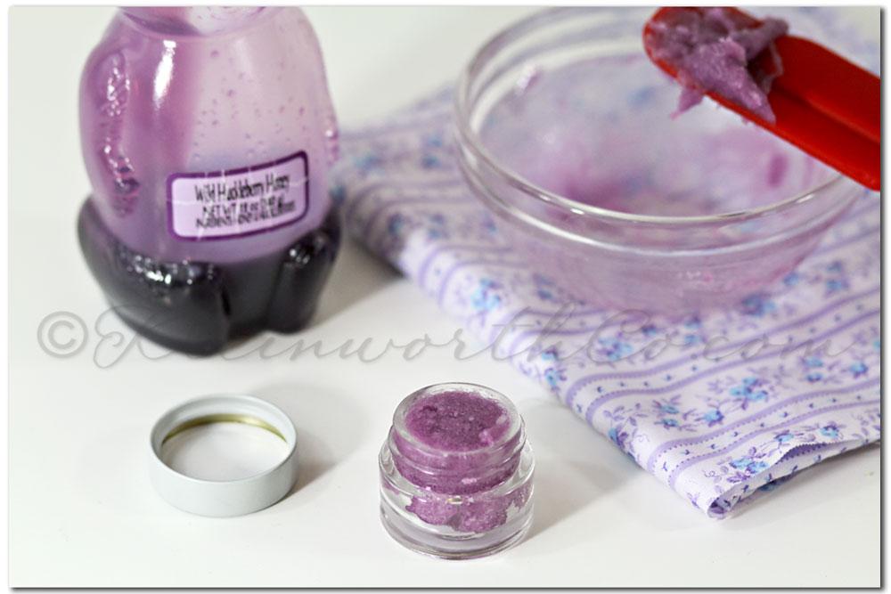 Huckleberry Honey Lip Scrub {DIY}