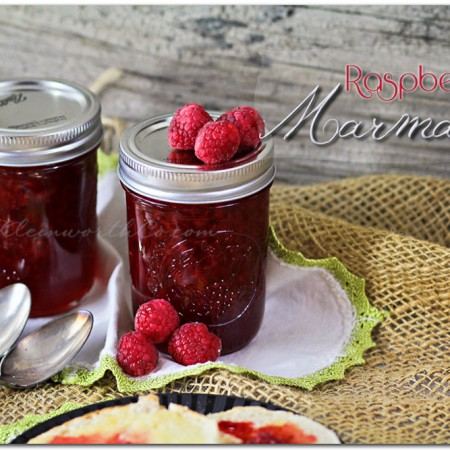 Raspberry Marmalade {Recipe} ~ Your Best Weekly