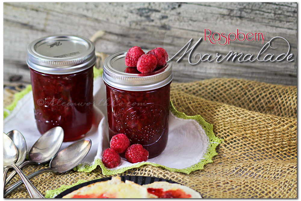 Raspberry Marmalade {Recipe}