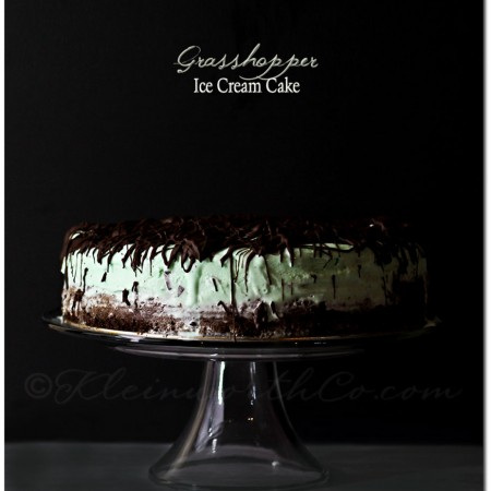 Grasshopper Ice Cream Cake ~ Your Best Weekly