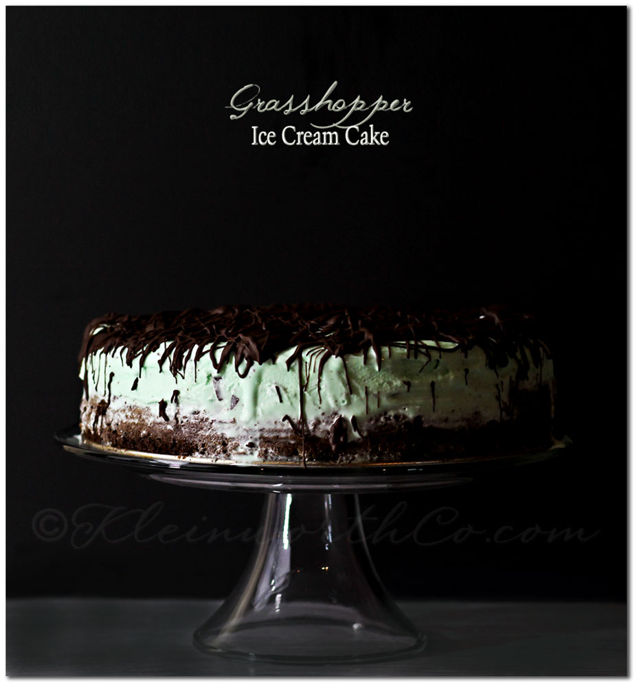 Grasshopper Ice Cream Cake