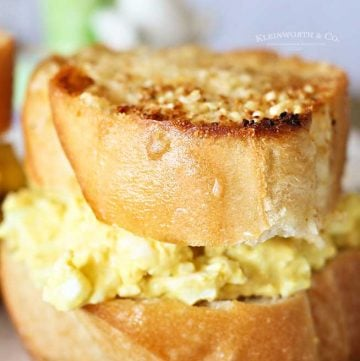 Egg Salad Sliders recipe
