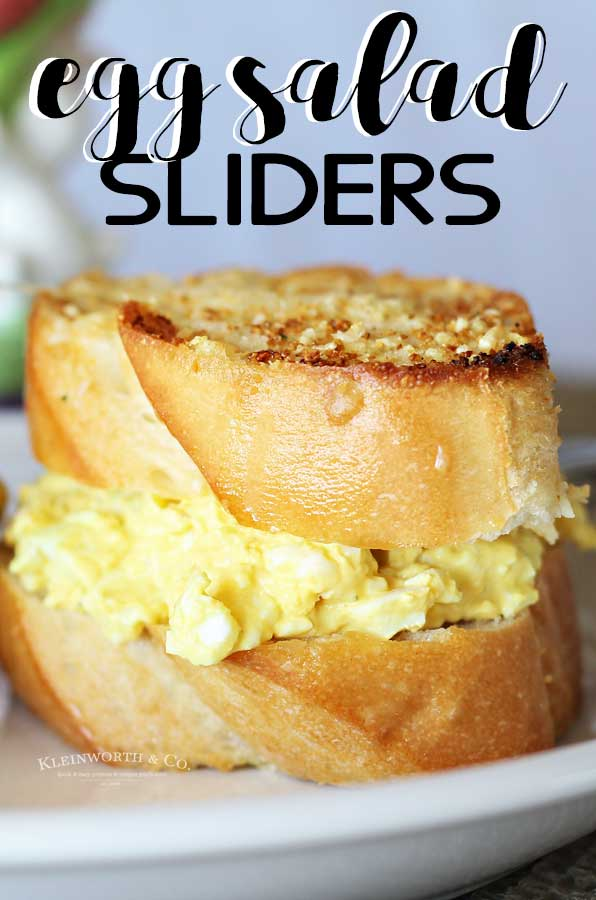 Egg Salad Sliders