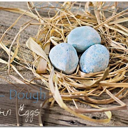 "Salt-Dough ""Robin Eggs"""