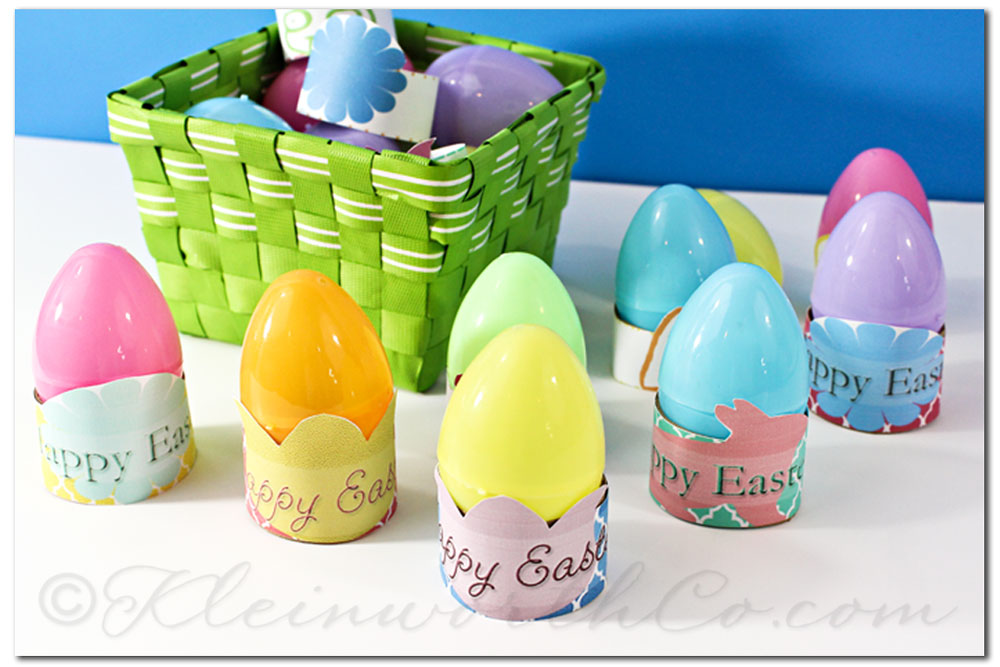 Project 52 ~ Week 10 ~ {Linky}, Easter Egg Stand Printable Wrapper