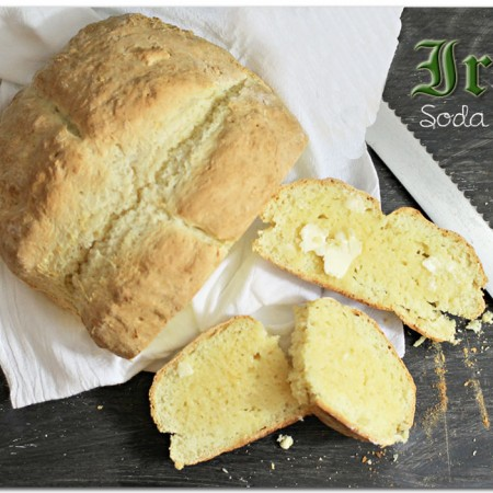 St. Patrick's Day Irish Soda Bread {Recipe}