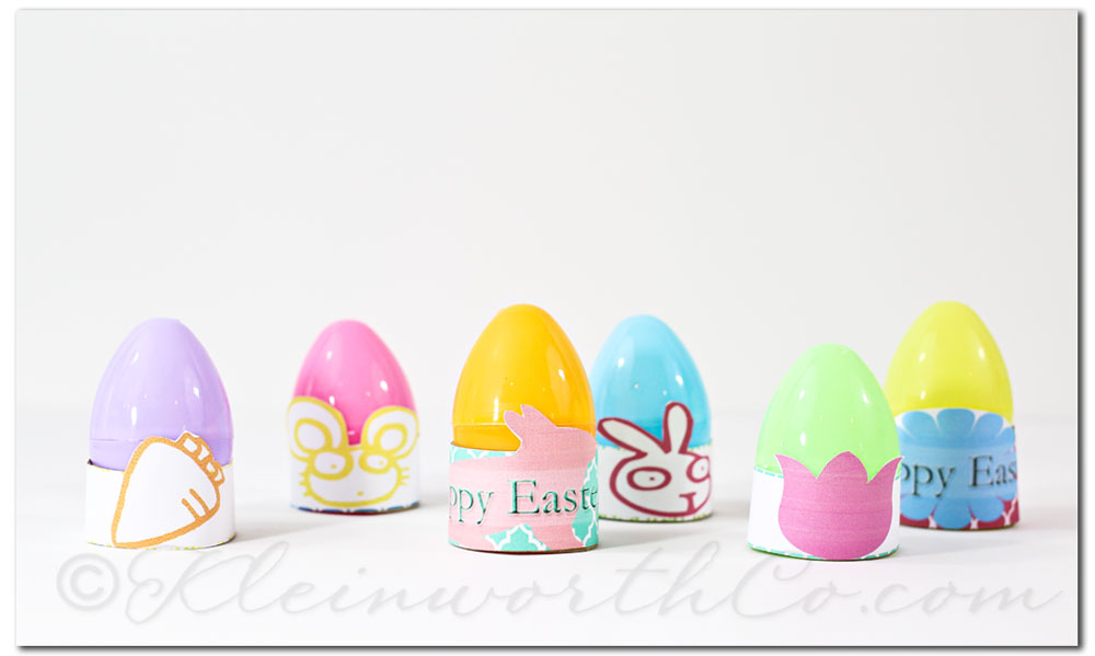 Easter egg stand printables
