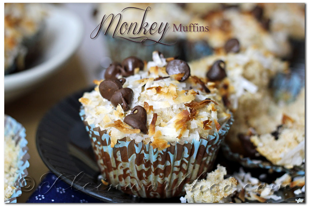 Monkey Muffins ~ Your Best Weekly, Top 12 Chocolate Recipes from Kleinworthco.com