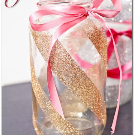 Glitter Jars {DIY Tutorial}