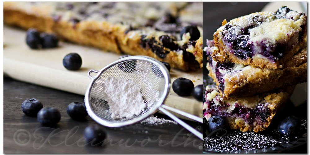 Blueberry Pie Bars {Recipe}