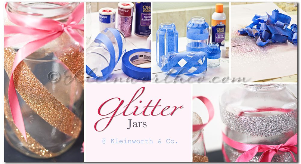 Glitter Jars  tutorial