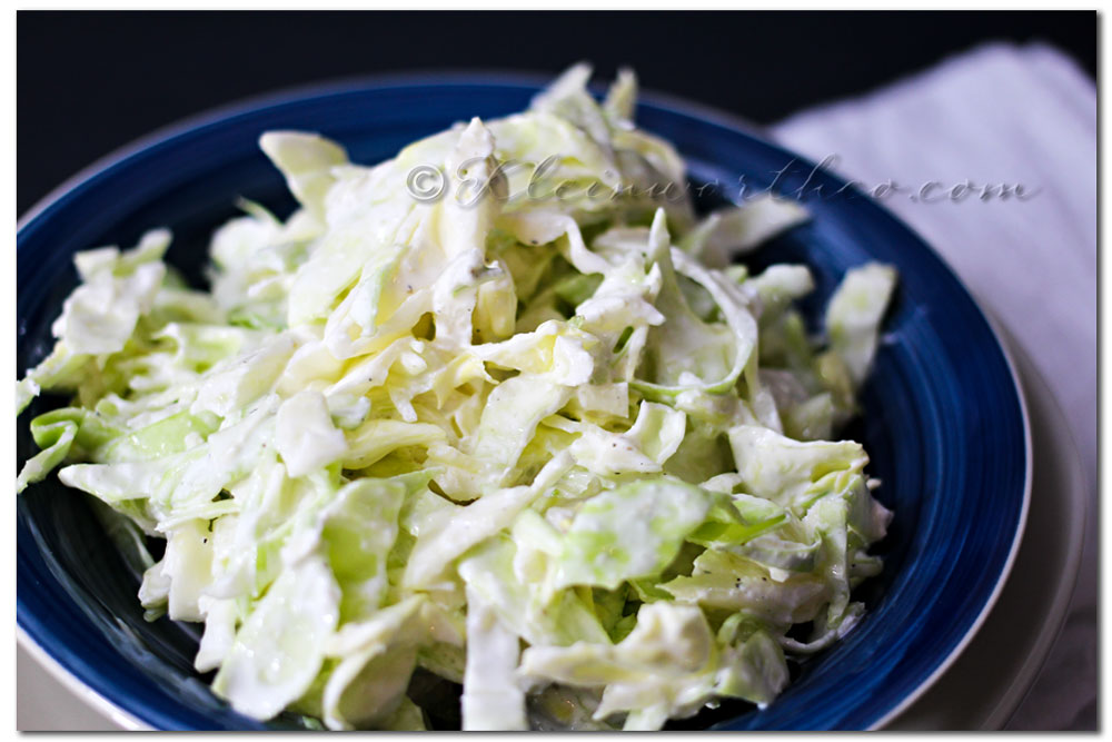 Garlic Cabbage Slaw {Recipe}, garlic recipes