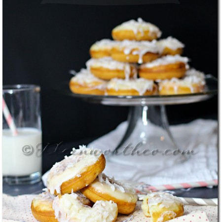 Banana Coconut Donuts ~ Your Best Weekly