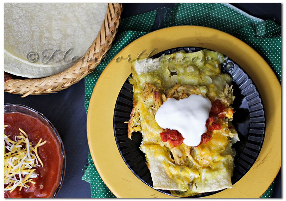 Easy Enchiladas {Recipe} ~ Your Best Weekly