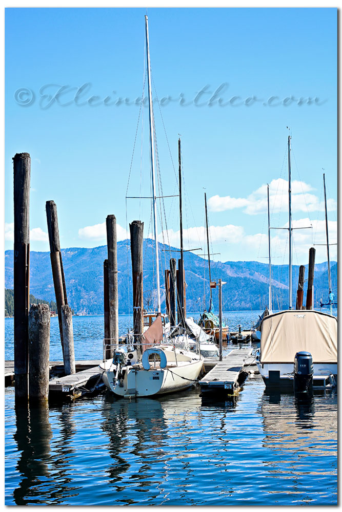 Lake Pend Oreille, sail boat, Scavenger Hunt Sunday