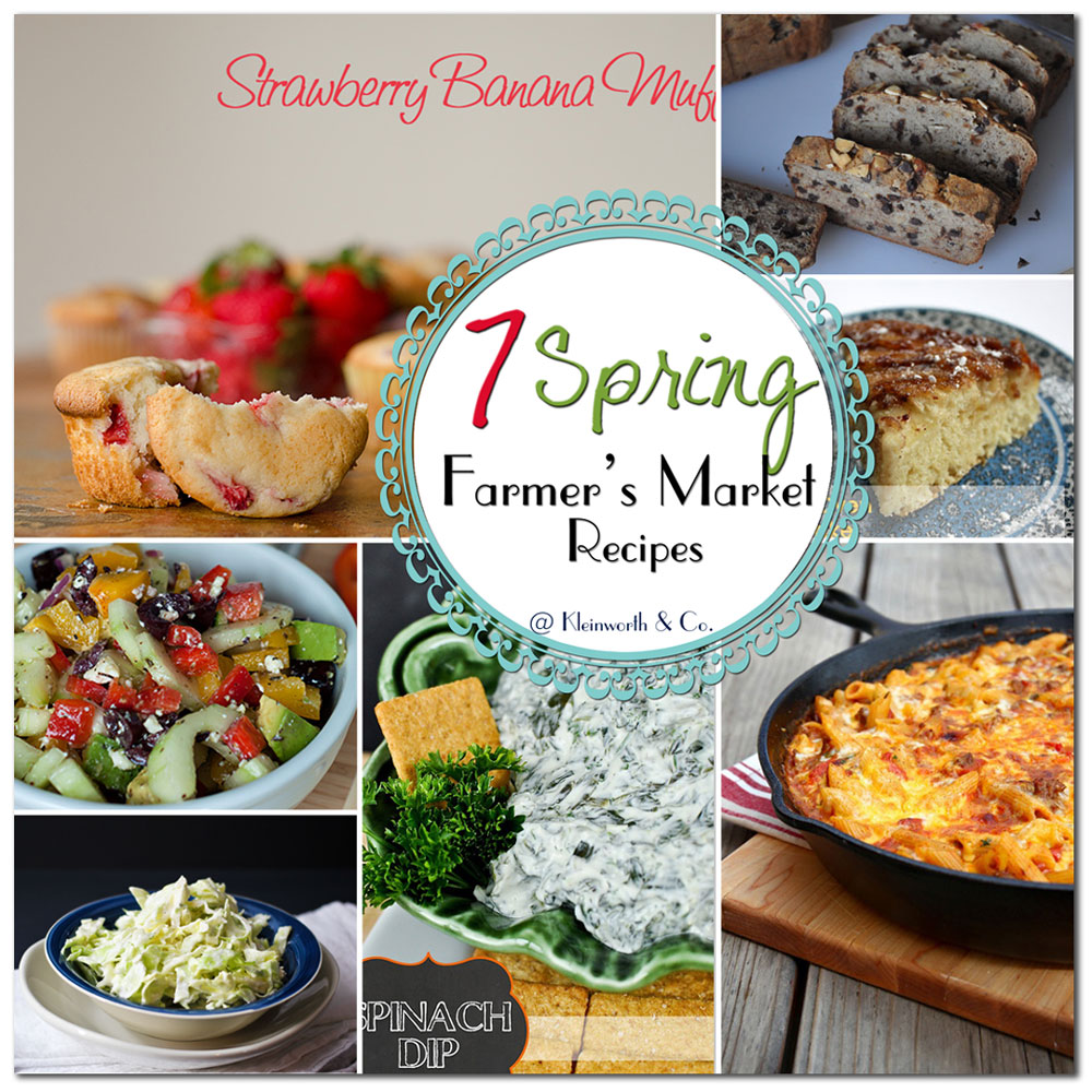 7 Spring Farmer's Market Recipes
