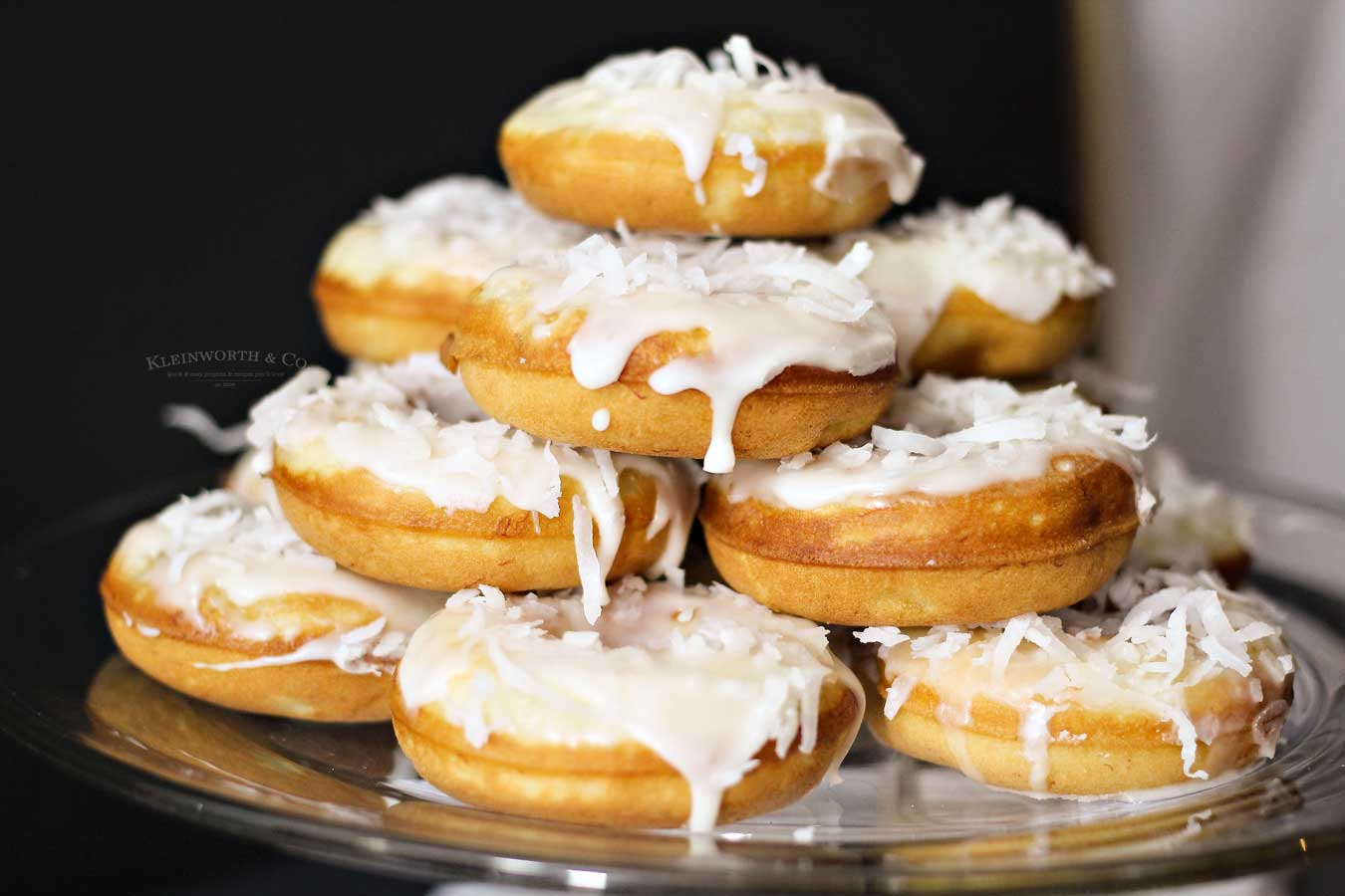 Banana Coconut Donuts for breakfast