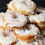 breakfast recipe Banana Coconut Donuts