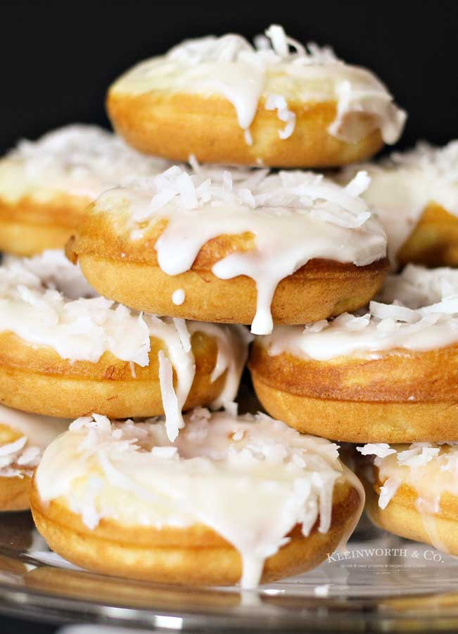 how to make Banana Coconut Donuts
