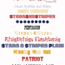 17 favorite patriotic fonts