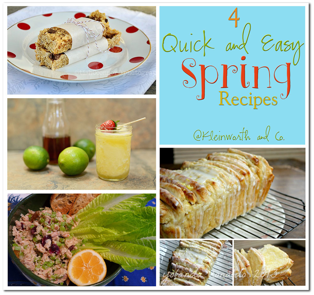 4 Quick & Easy Spring Recipes