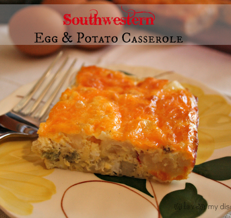 Southwestern Egg and Potato Casserole