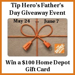 giveaway, win, home depot gift card giveaway