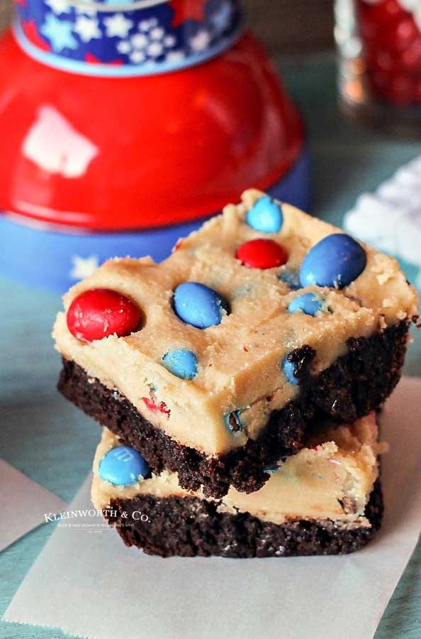 Dessert - Cookie Dough Brownies