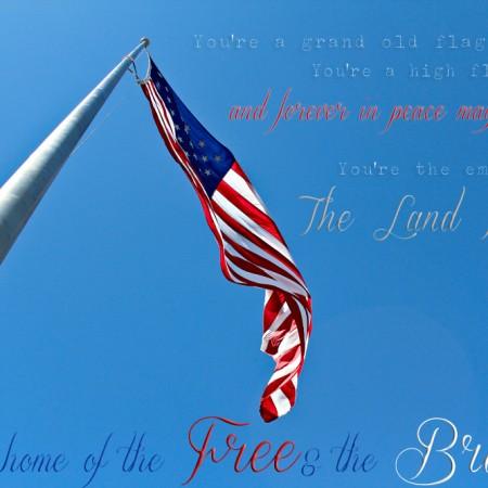 American Flag Printable