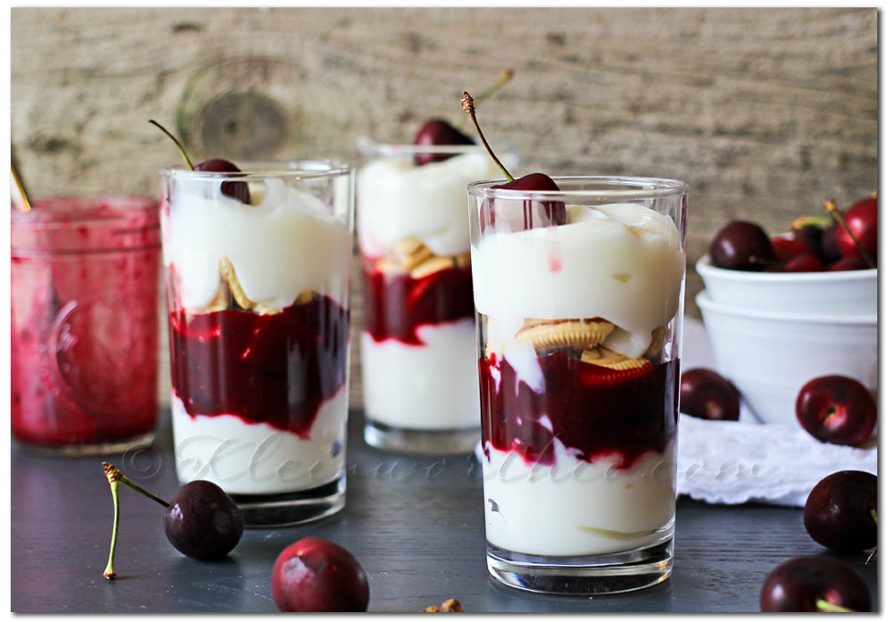 Cherry Pie Parfait